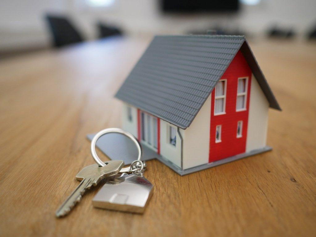 Dům na prodej, klíče od domu