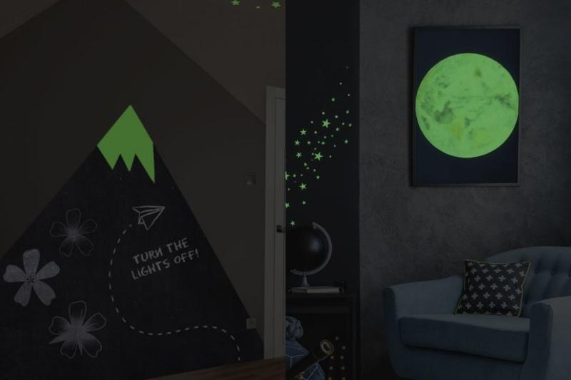 Svítící barva GlowPaint