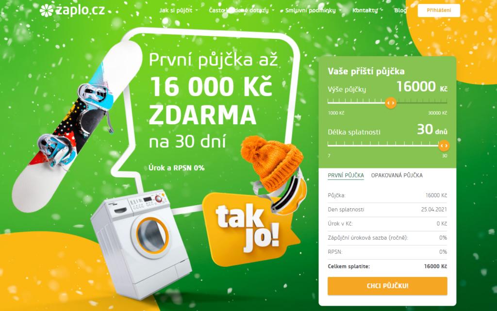 Půjčka online od Zaplo