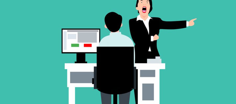 Office Boss Angry Employee Worker  - mohamed_hassan / Pixabay