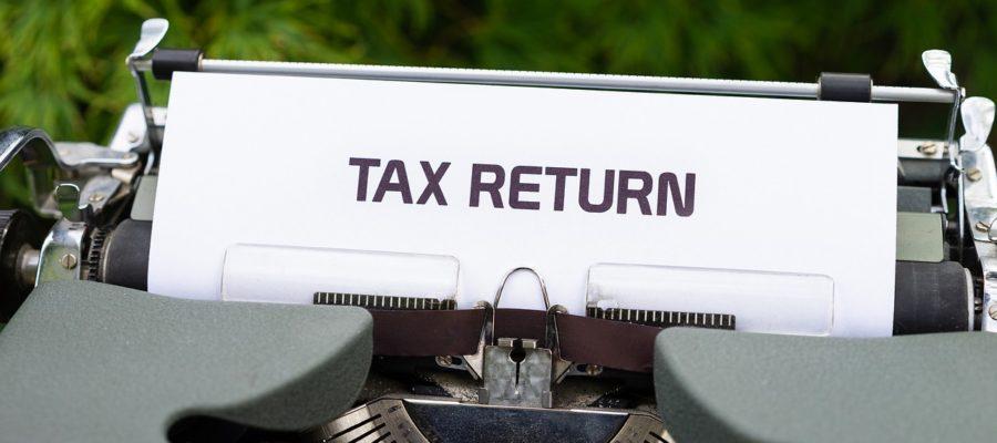 Typewriter Tax Return Government  - viarami / Pixabay